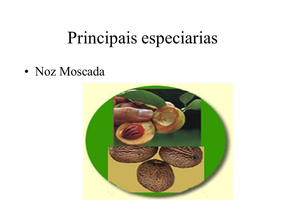 Principais especiarias