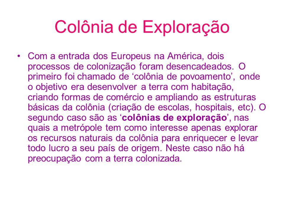 Colônia de Exploração