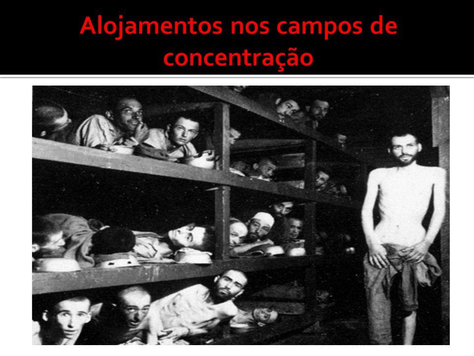 Alojamentos nos campos de concentração