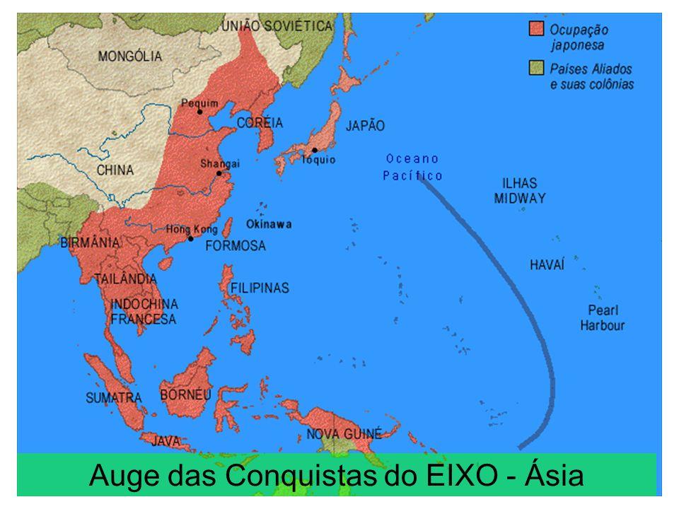 Auge das Conquistas do EIXO - Ásia