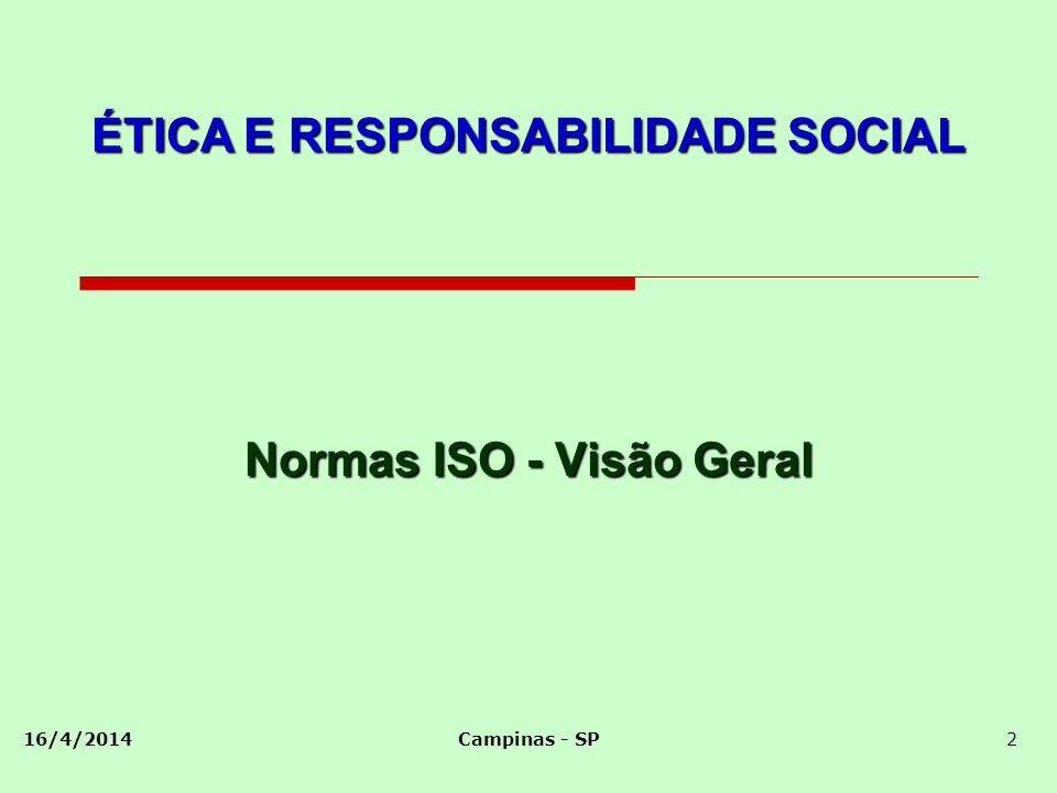 Normas ISO - Visão Geral