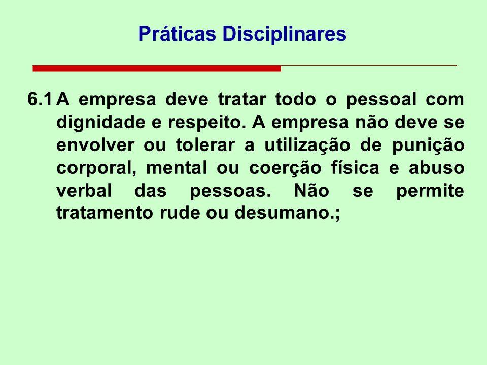 Práticas Disciplinares
