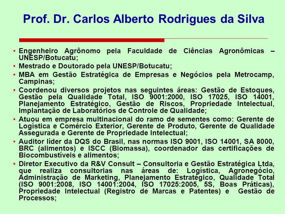 Prof. Dr. Carlos Alberto Rodrigues da Silva