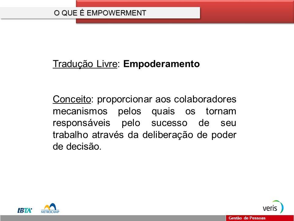 Tradução Livre: Empoderamento