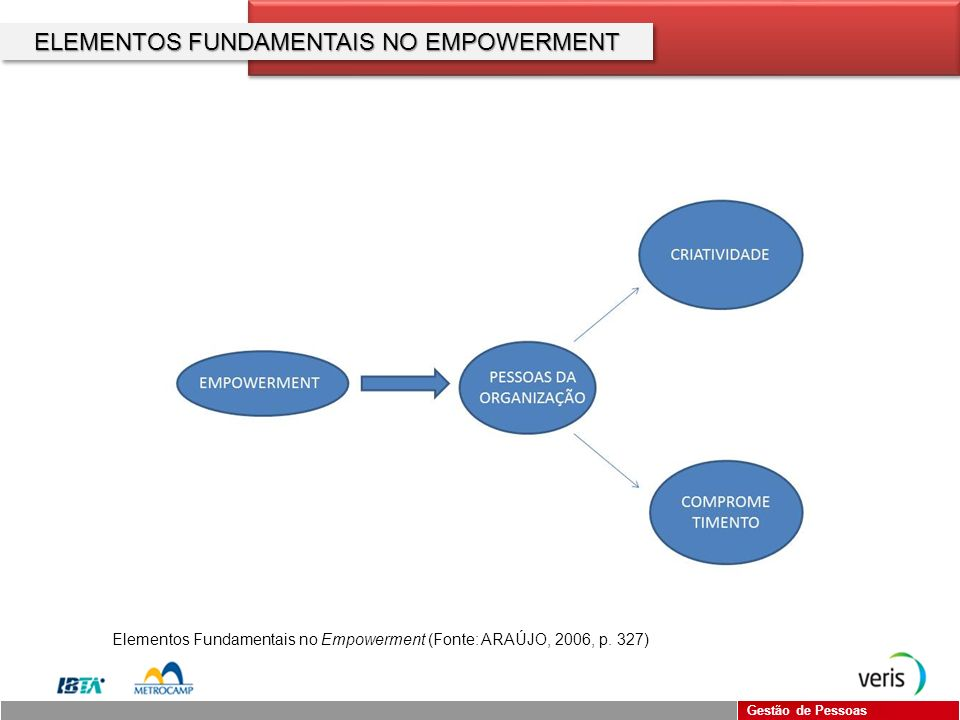 ELEMENTOS FUNDAMENTAIS NO EMPOWERMENT