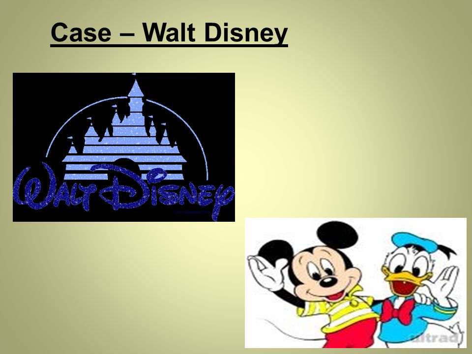 Case – Walt Disney Case – Walt Disney