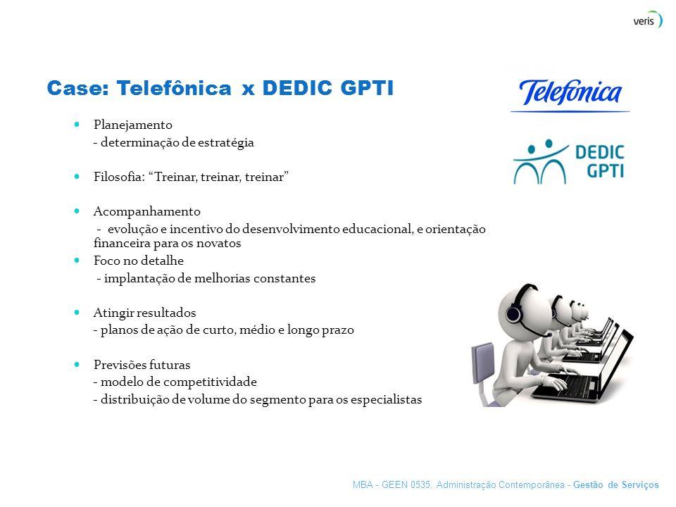 Case: Telefônica x DEDIC GPTI