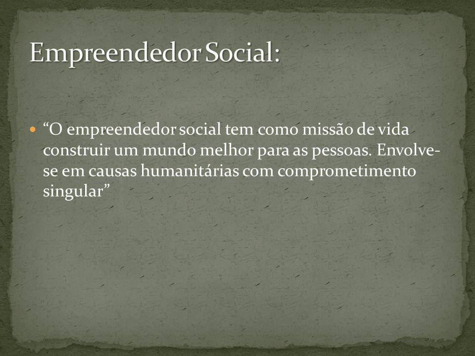 Empreendedor Social: