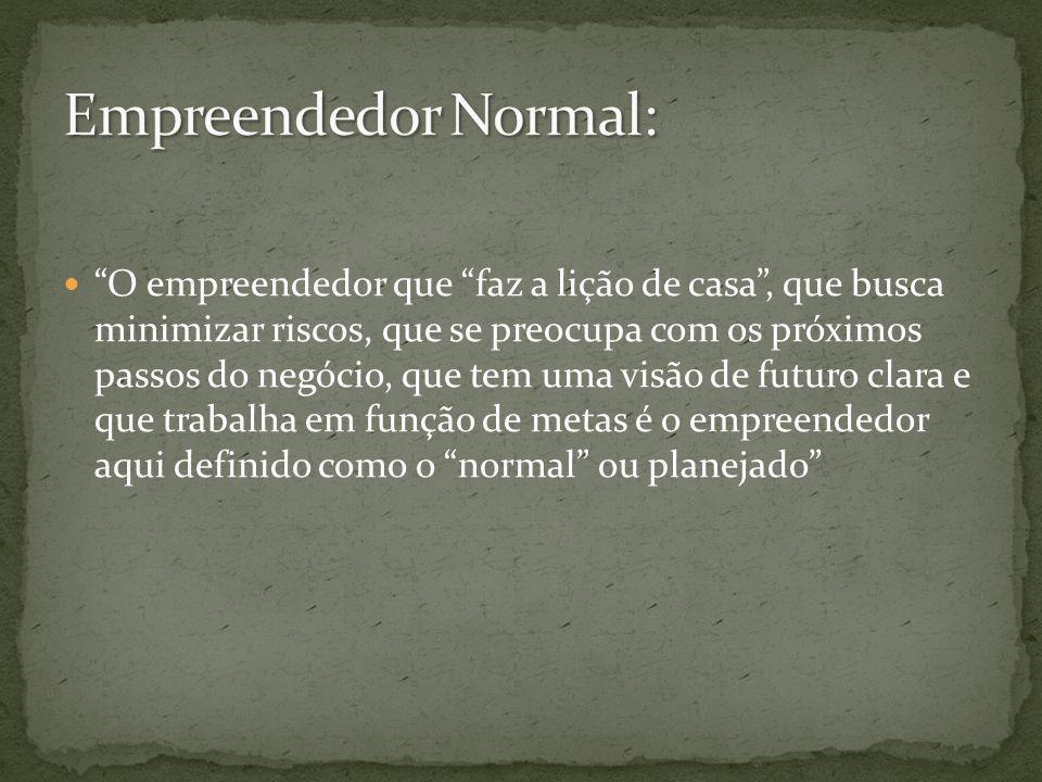 Empreendedor Normal: