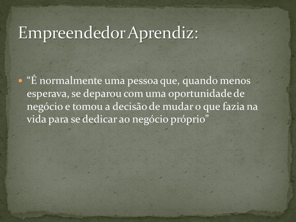 Empreendedor Aprendiz: