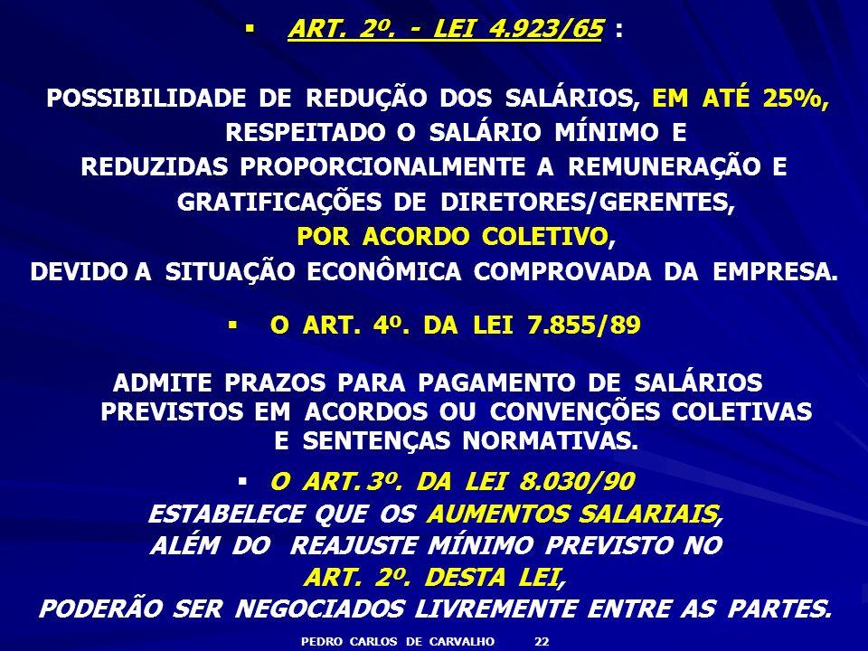 DEVIDO A SITUAÇÃO ECONÔMICA COMPROVADA DA EMPRESA.