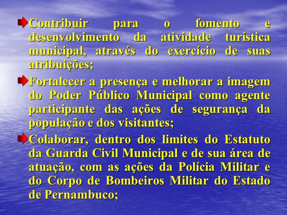 Contribuir para o fomento e desenvolvimento da atividade turística municipal, através do exercício de suas atribuições;