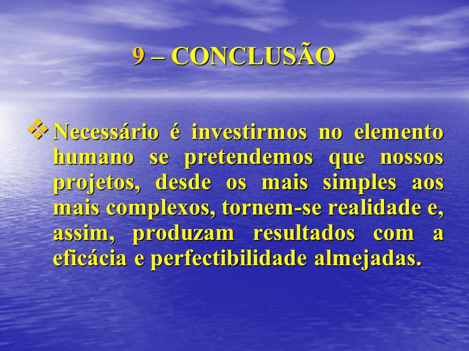 9 – CONCLUSÃO