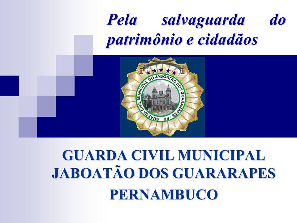 Pela salvaguarda do patrimônio e cidadãos