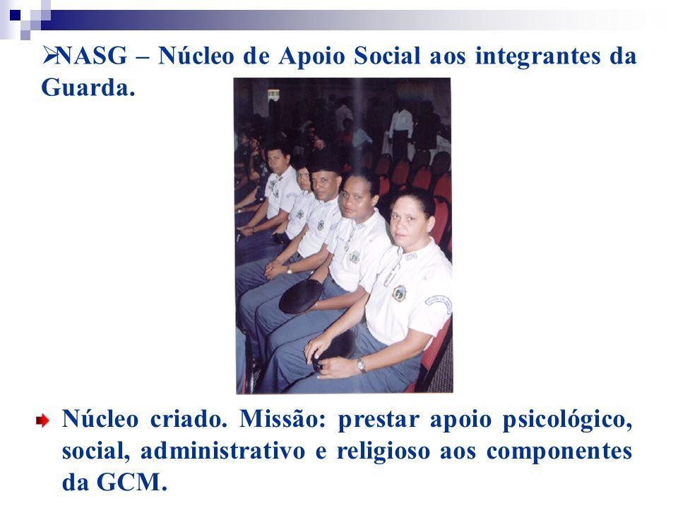 NASG – Núcleo de Apoio Social aos integrantes da Guarda.