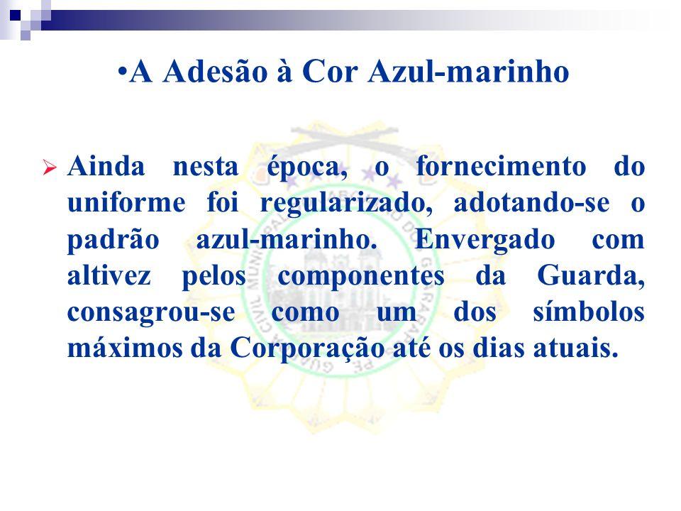 A Adesão à Cor Azul-marinho