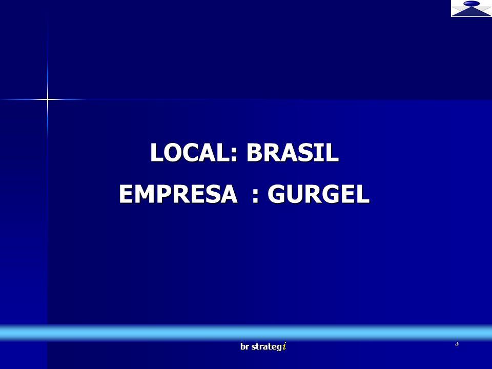 LOCAL: BRASIL EMPRESA : GURGEL