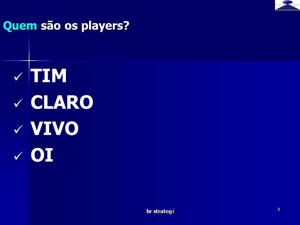 Quem são os players TIM CLARO VIVO OI br strategi 3