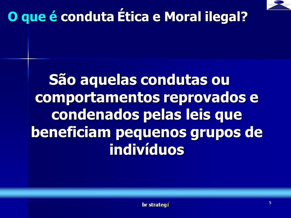 O que é conduta Ética e Moral ilegal