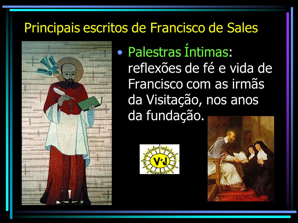 Principais escritos de Francisco de Sales