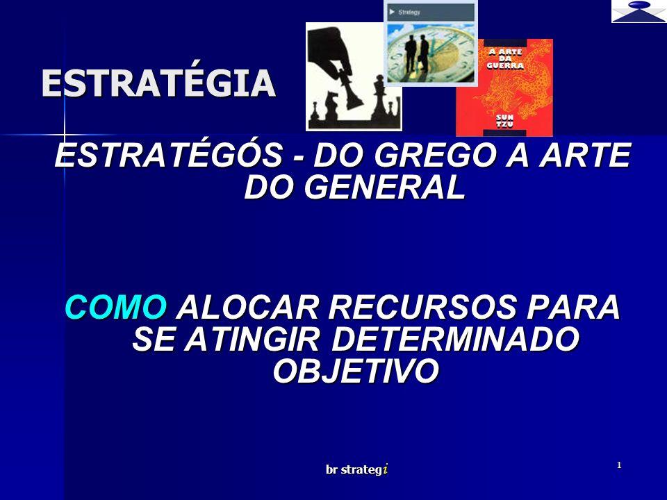ESTRATÉGIA ESTRATÉGÓS - DO GREGO A ARTE DO GENERAL