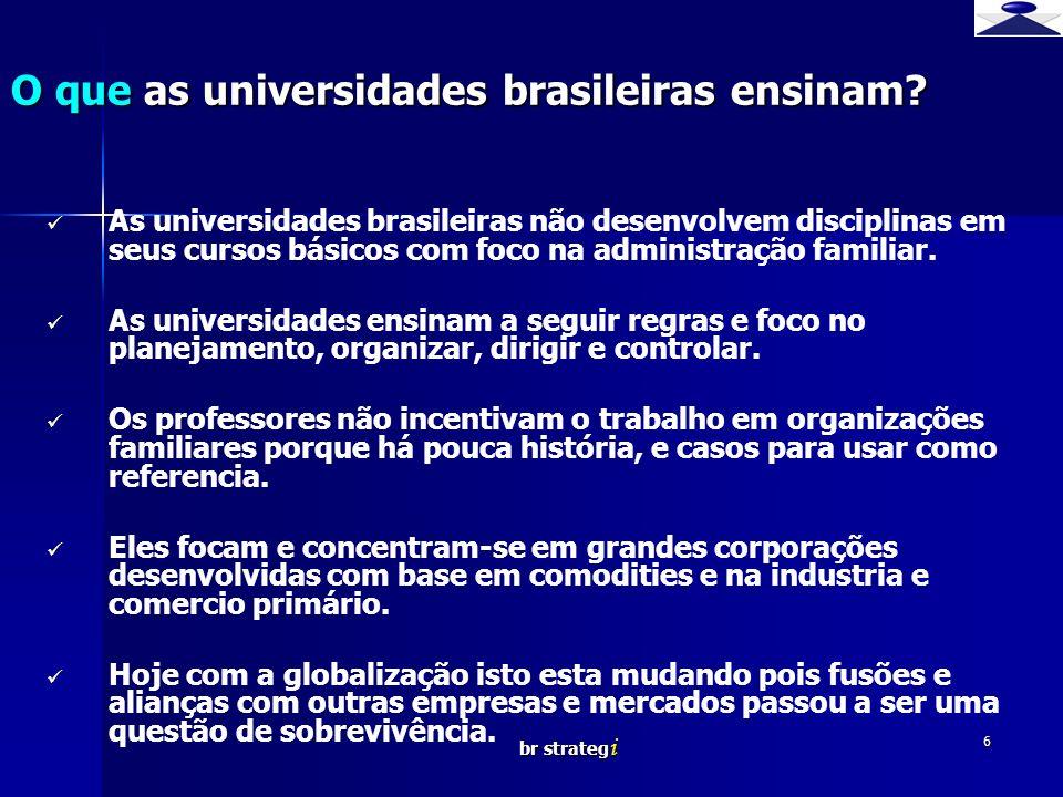 O que as universidades brasileiras ensinam