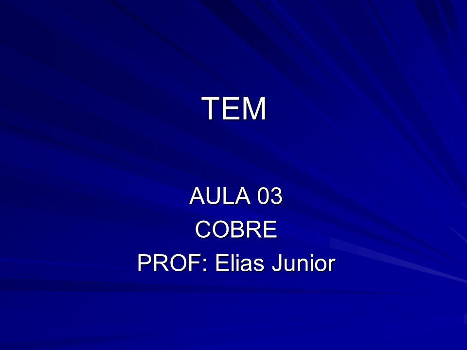 AULA 03 COBRE PROF: Elias Junior