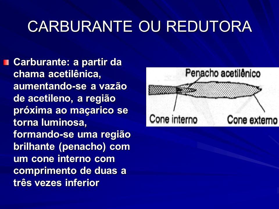 CARBURANTE OU REDUTORA