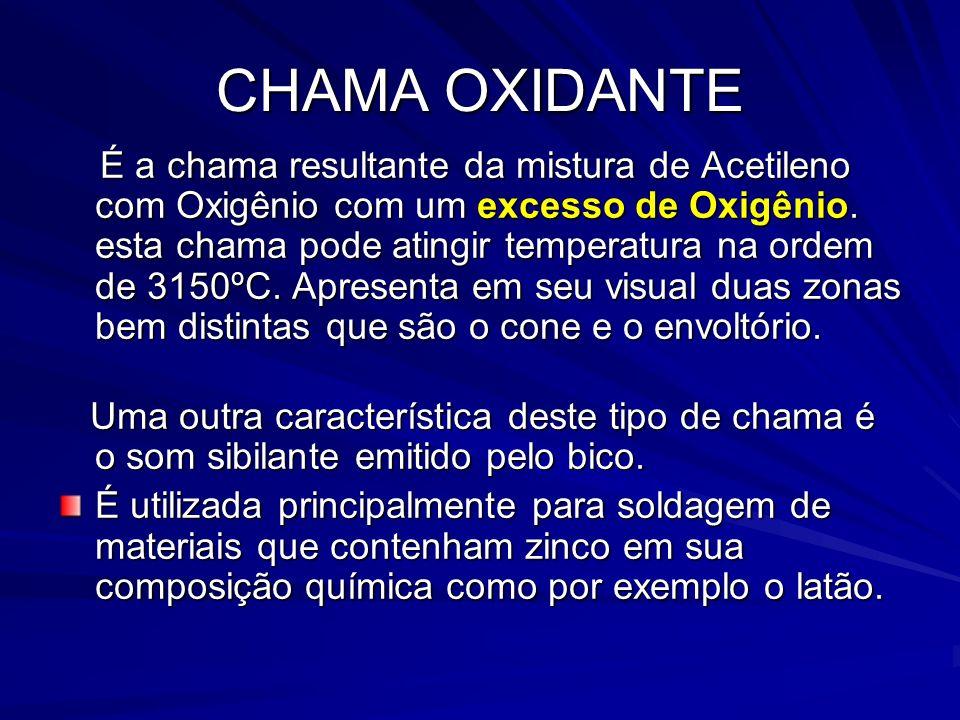 CHAMA OXIDANTE