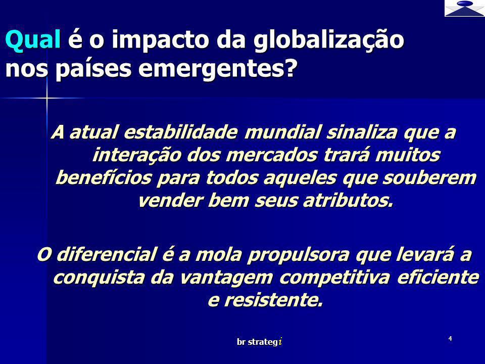 Qual é o impacto da globalização nos países emergentes