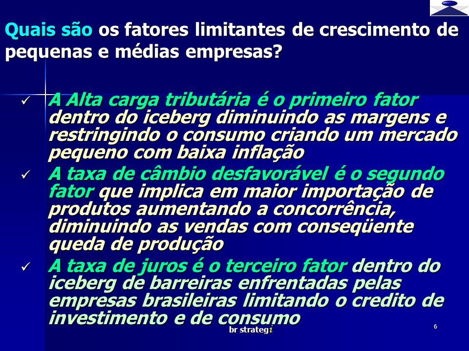 Quais são os fatores limitantes de crescimento de pequenas e médias empresas