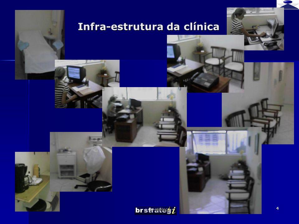 Infra-estrutura da clínica