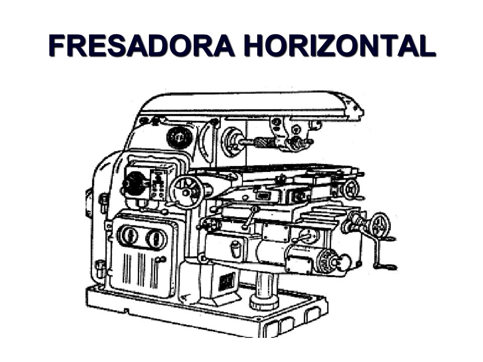 FRESADORA HORIZONTAL