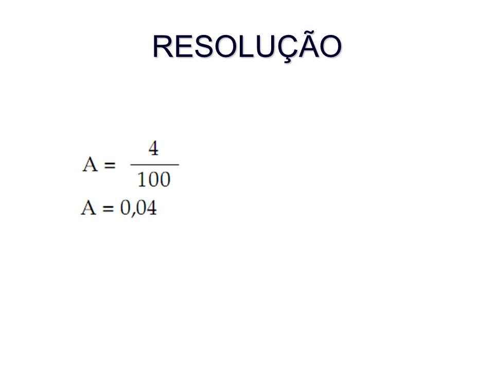 RESOLUÇÃO 30/0,04= 750 divisões