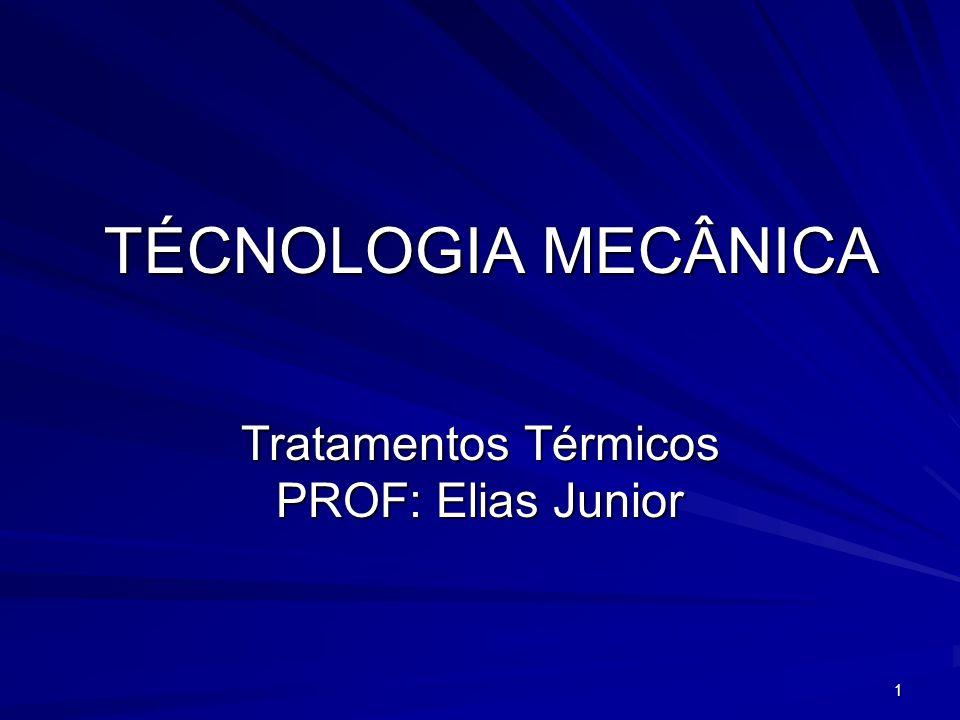 Tratamentos Térmicos PROF: Elias Junior