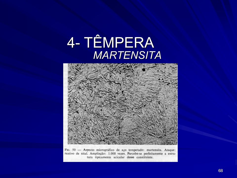 4- TÊMPERA MARTENSITA