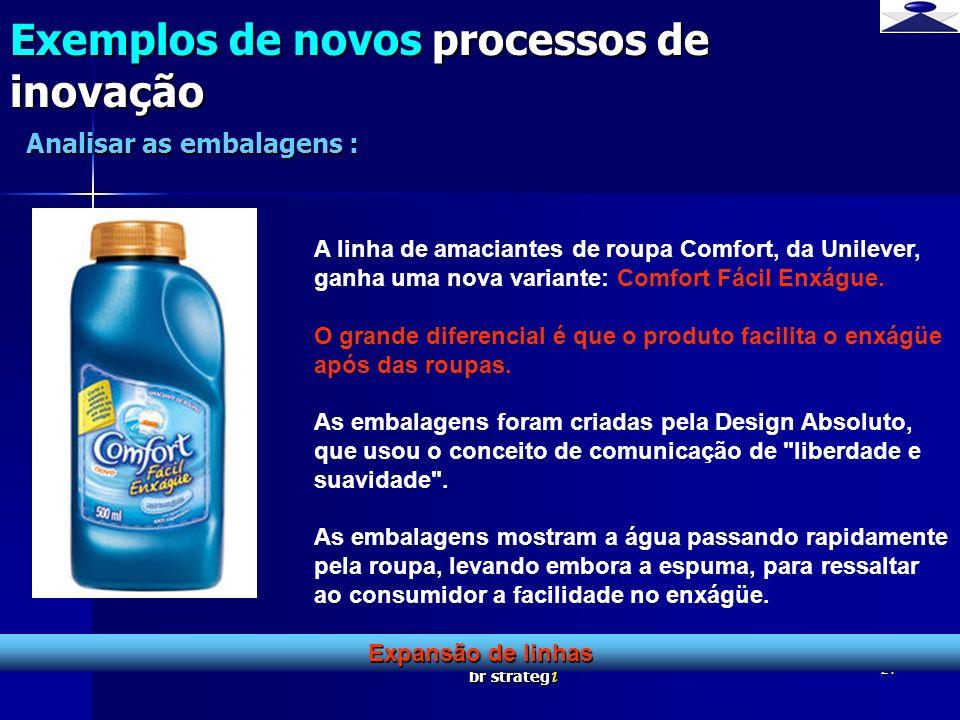 Exemplos de novos processos de inovação