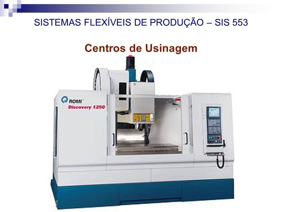 SISTEMAS FLEXÍVEIS DE PRODUÇÃO – SIS 553 Centros de Usinagem