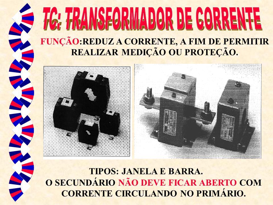 TC: TRANSFORMADOR DE CORRENTE