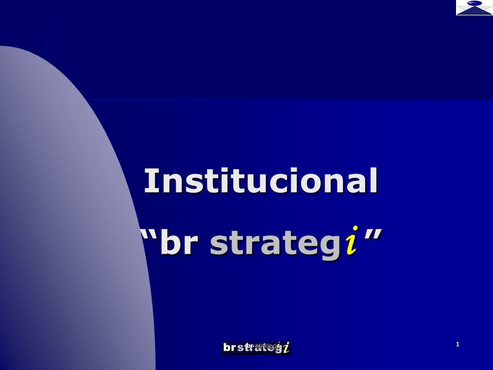 Institucional br strategi