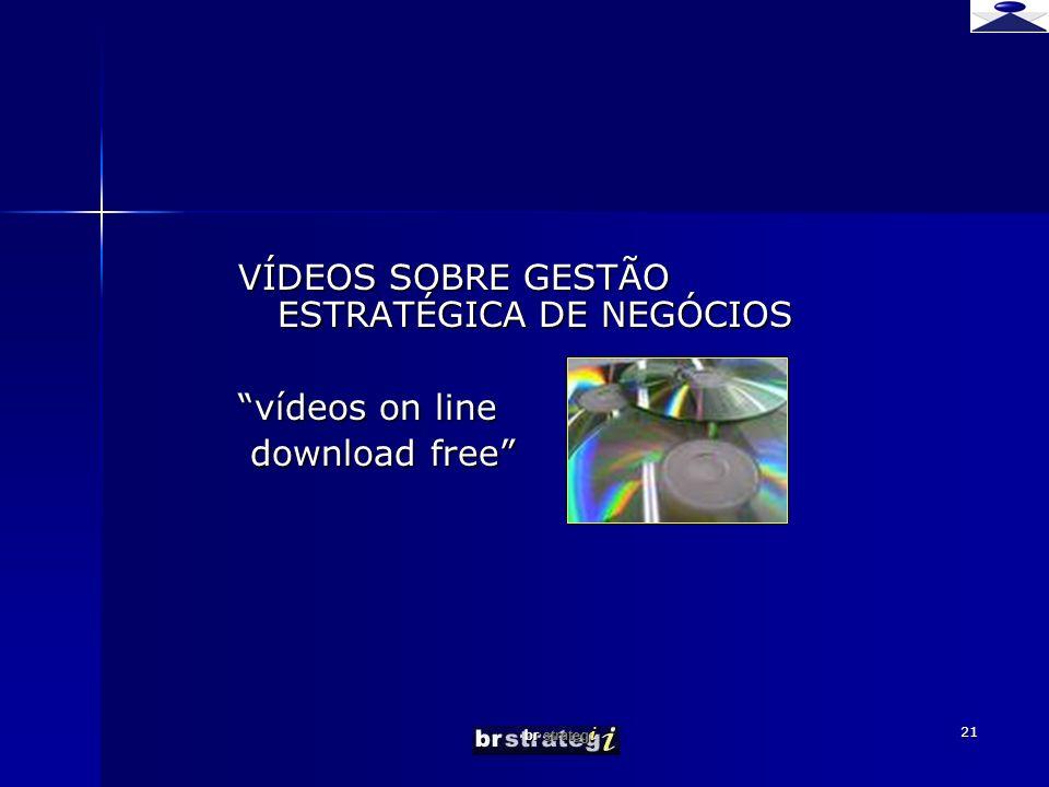 VÍDEOS SOBRE GESTÃO ESTRATÉGICA DE NEGÓCIOS