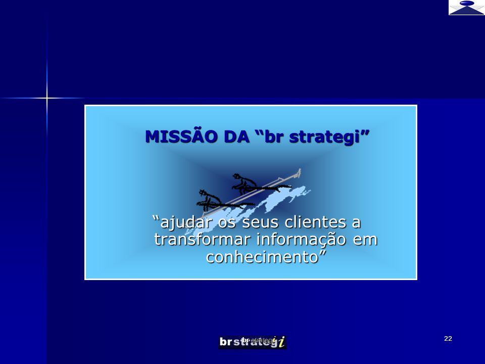 MISSÃO DA br strategi
