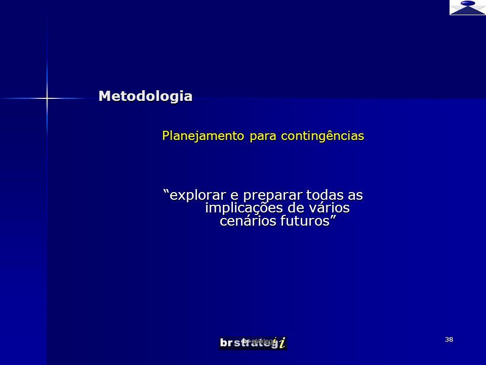 explorar e preparar todas as implicações de vários cenários futuros