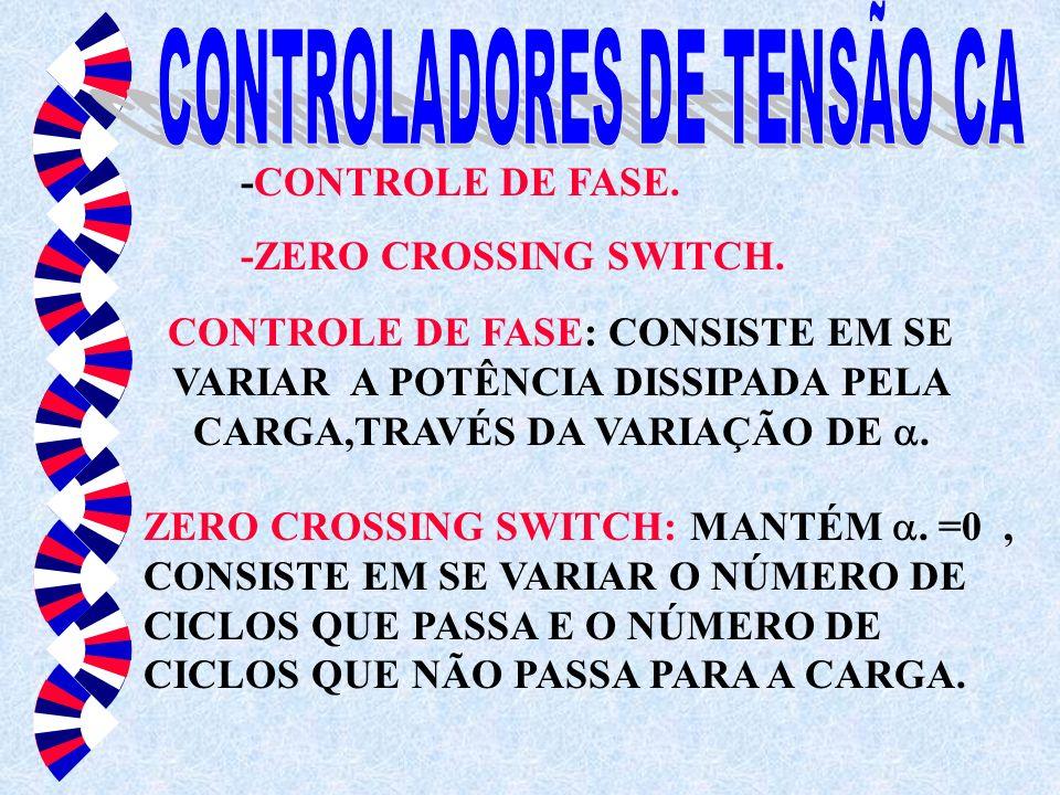 CONTROLADORES DE TENSÃO CA