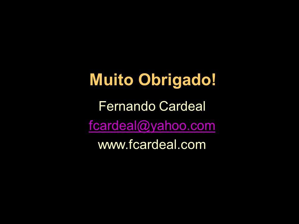 Fernando Cardeal fcardeal@yahoo.com www.fcardeal.com