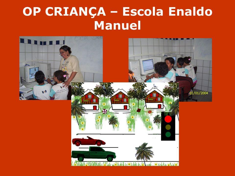 OP CRIANÇA – Escola Enaldo Manuel