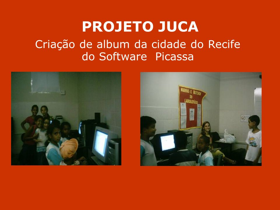 Criação de album da cidade do Recife do Software Picassa