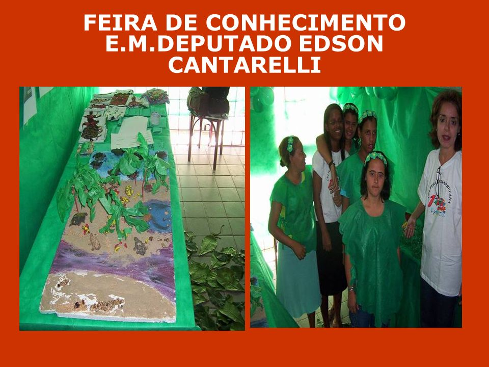 FEIRA DE CONHECIMENTO E.M.DEPUTADO EDSON CANTARELLI
