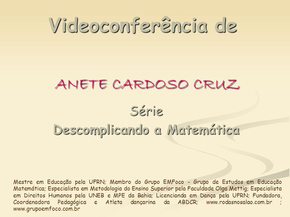 Videoconferência de ANETE CARDOSO CRUZ