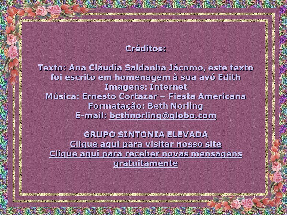 Música: Ernesto Cortazar – Fiesta Americana Formatação: Beth Norling